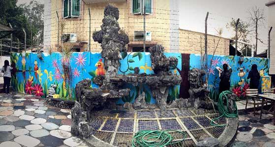 2015關愛壁畫